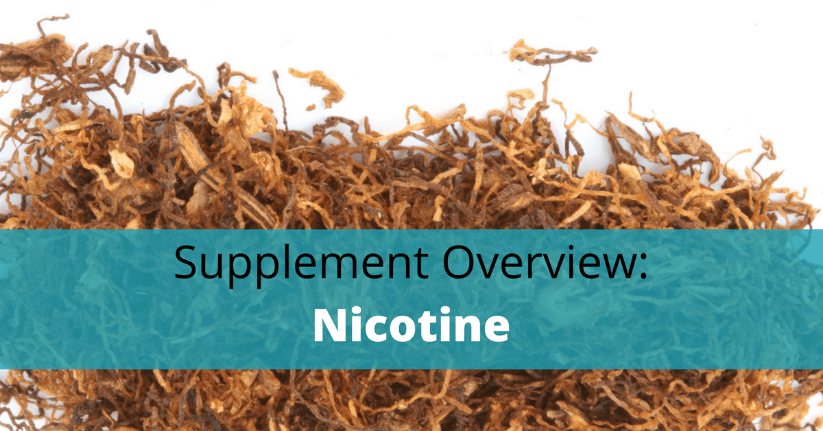 Benefits And Side Effects Of Nicotine As A Nootropic
