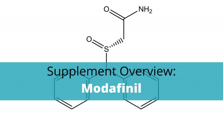 Modafinil chemical structure