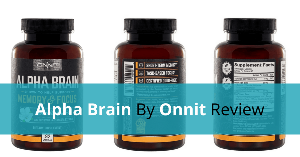 Alpha Brain By Onnit Review - Will It Blow Your Mind