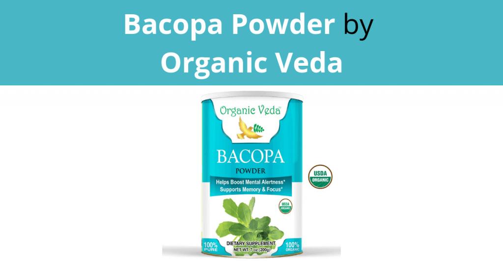 Bacopa Powder by Organic Veda