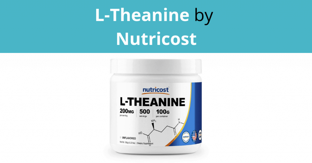 L-Theanine by Nutricost