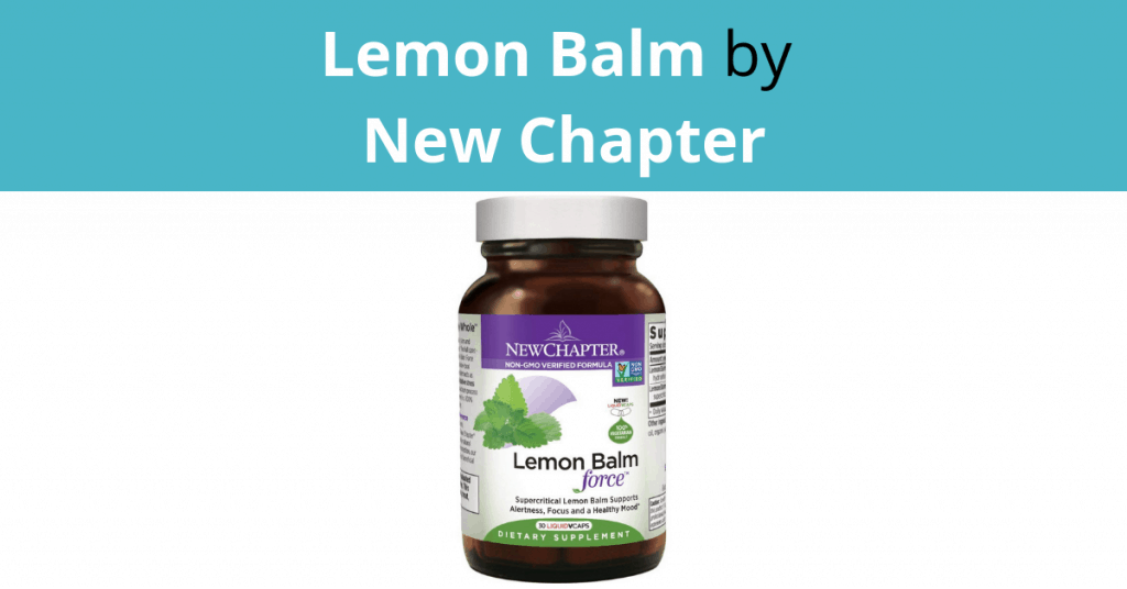 Lemon Balm by New Chapter