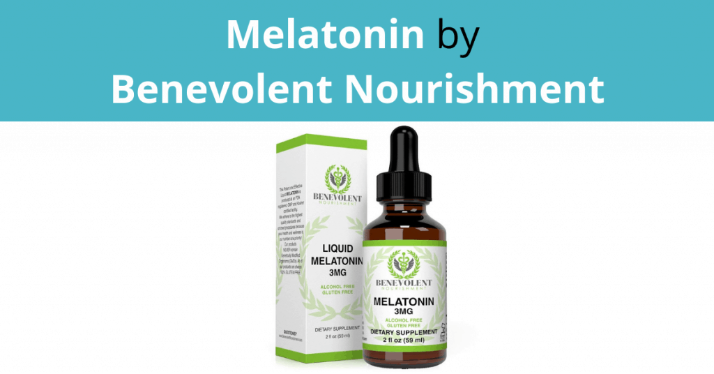 Melatonin by Benevolent Nourishment