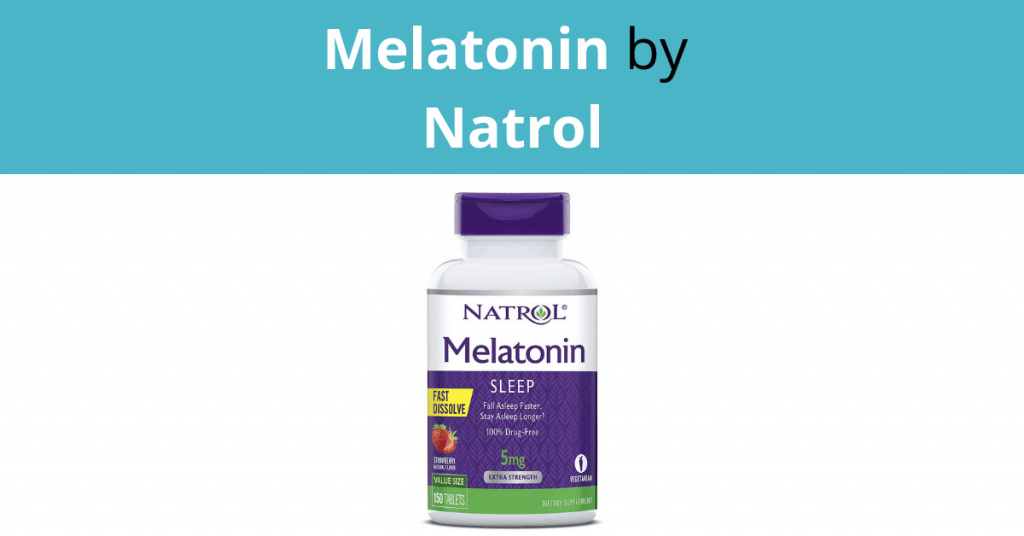 Melatonin by Natrol
