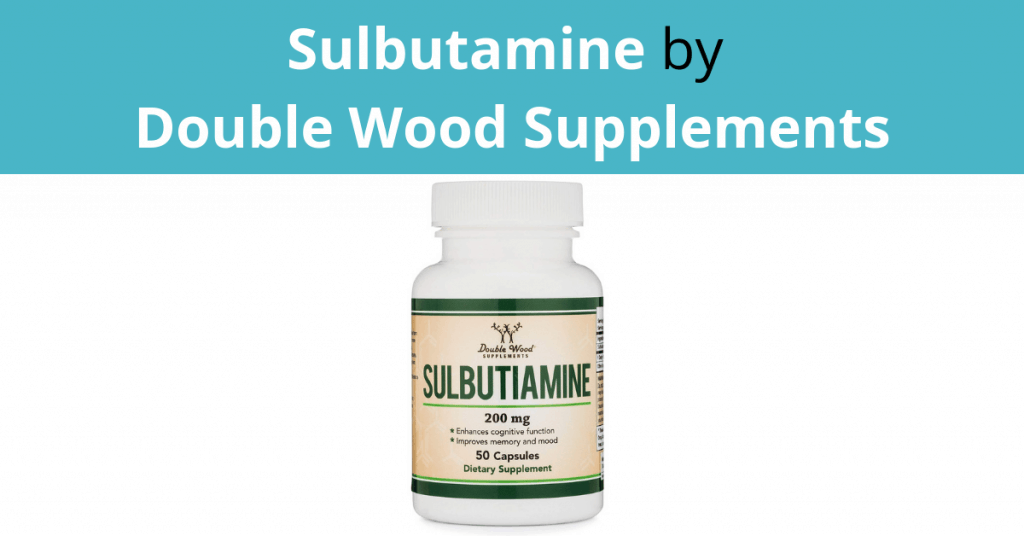 Sulbutamine by Double Wood Supplements