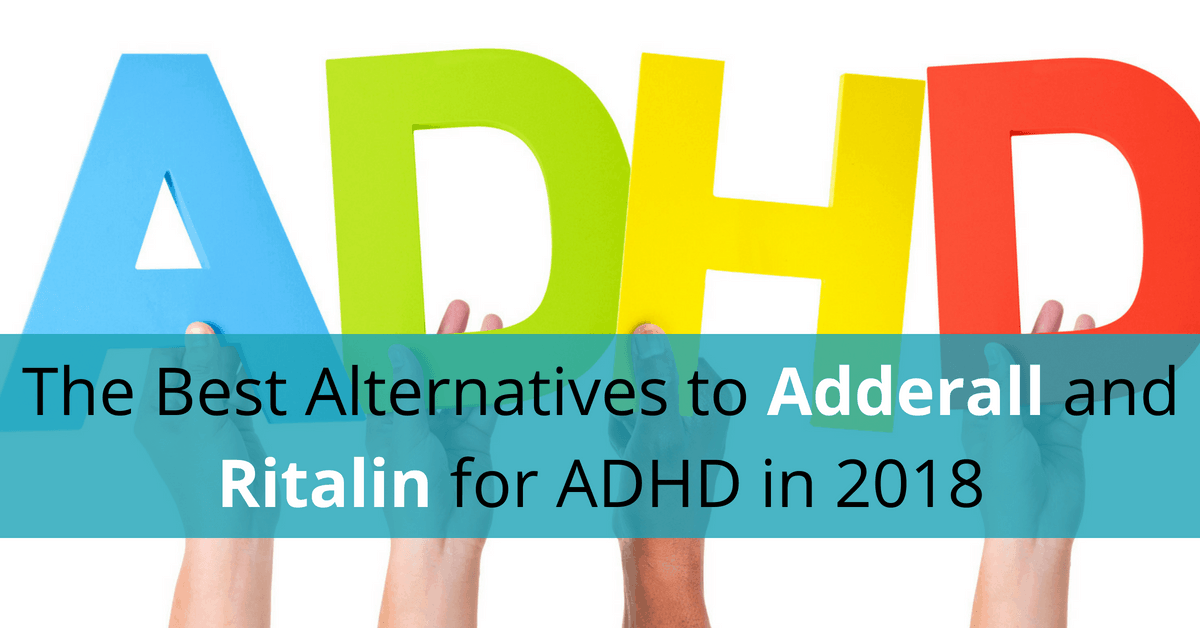 alternatives to adderall