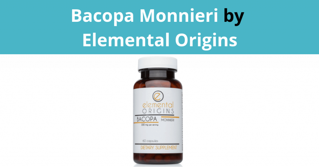Bacopa Monnieri by Elemental Origins