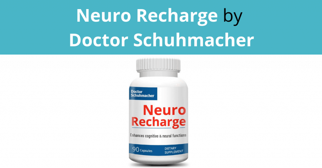 Neuro Recharge by Doctor Schuhmacher